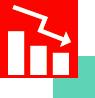 Spadek wartości - grafika