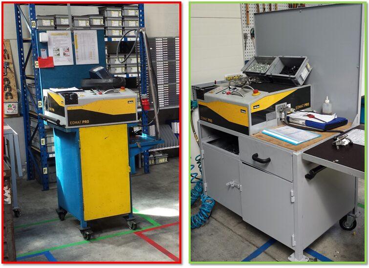 Organizacja montażu - przedstawienie projektu, przed i po