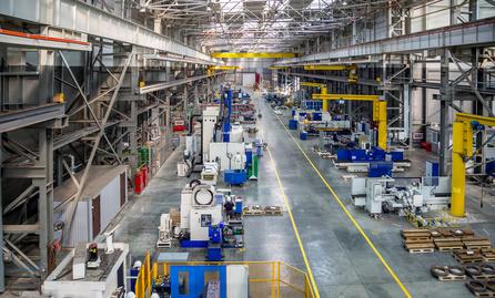 Ustawienie maszyn na produkcji