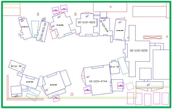ustawienie maszyn - case study layout