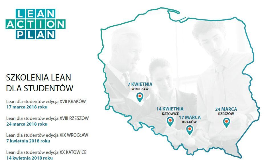 Szkolenia Lean dla studentów 2018