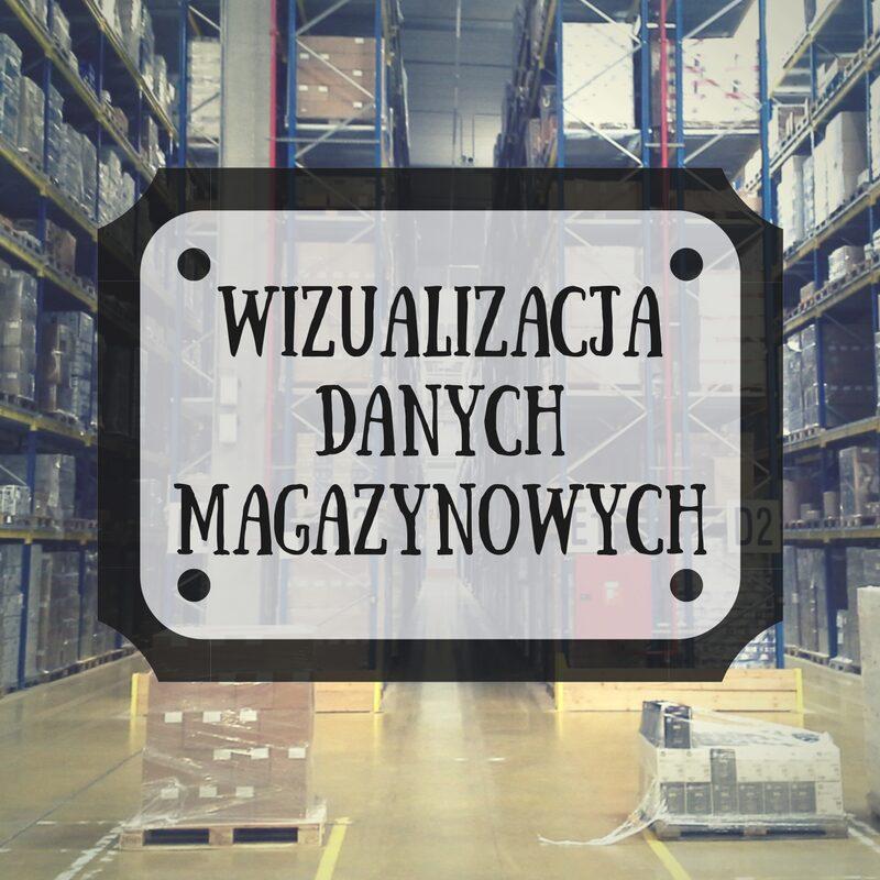 wizualizacja danych magazynowych