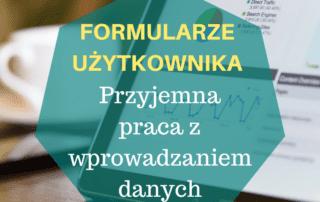 Formularze użytkownika VBA wykorzystanie Excela na produkcji