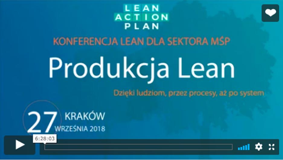 Relacja wideo Konferencja Produkcja Lean