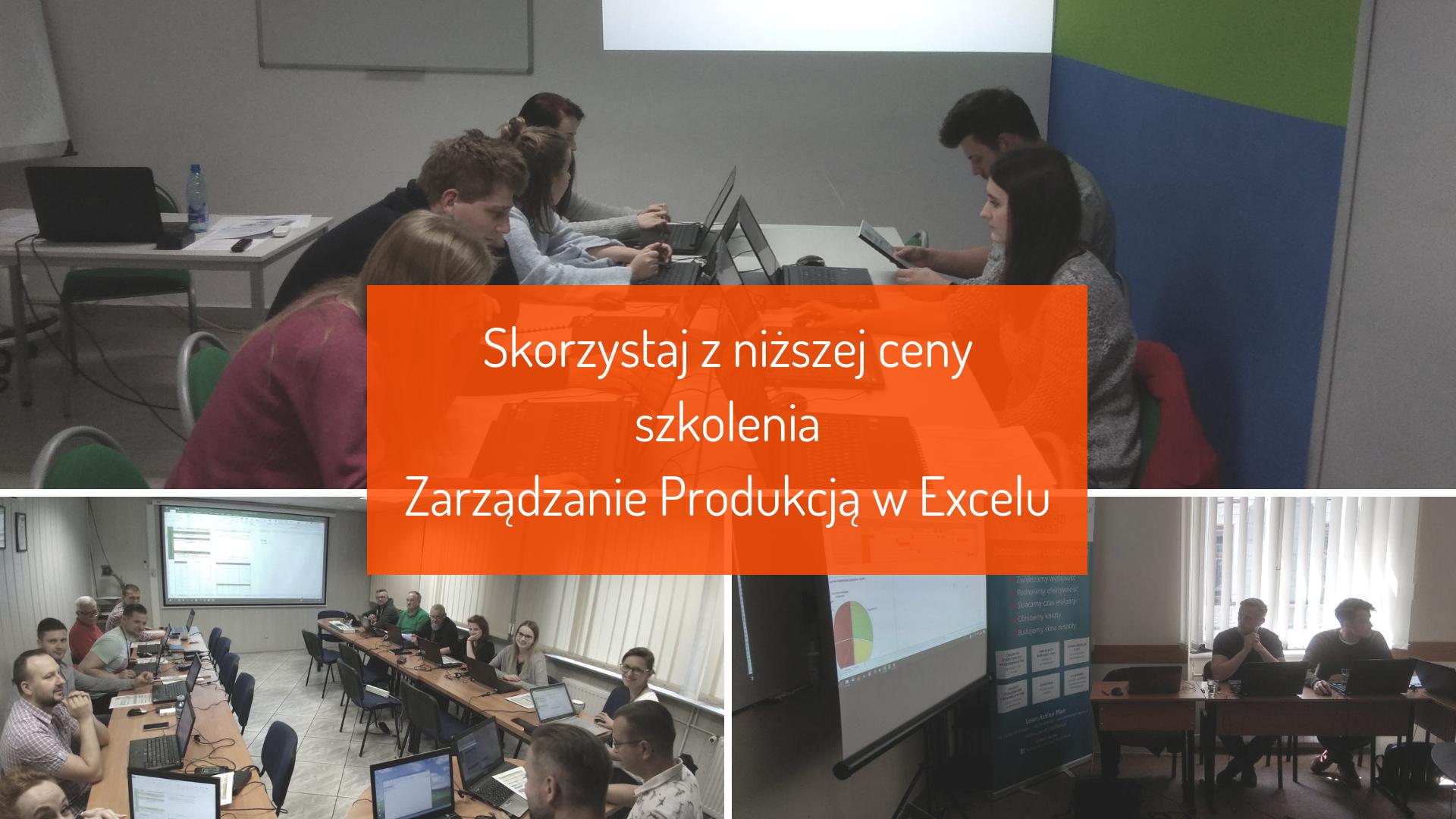 Szkolenie Zarządzanie Produkcją w Excelu