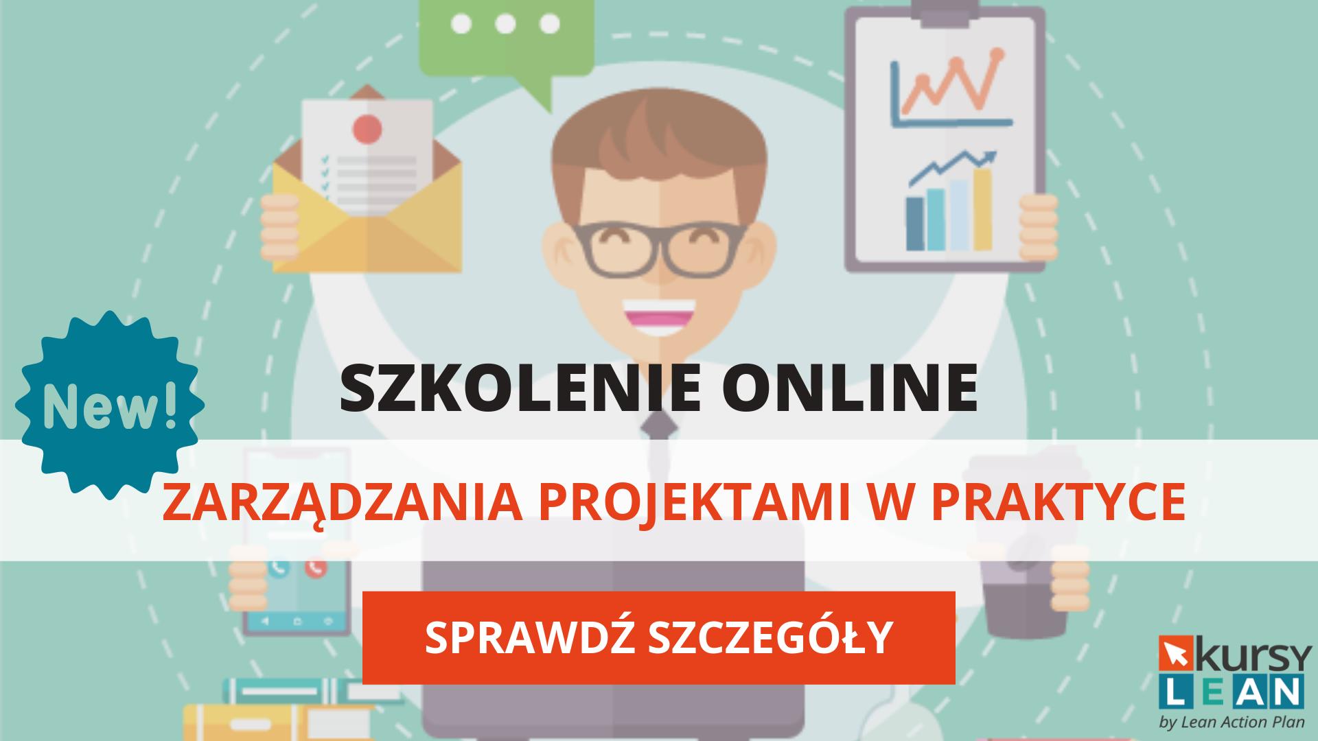 Szkolenie przez internet zarządzanie projektami