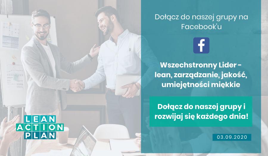 Dołącz do grupy na Facebooku - Wszechstronny Lider