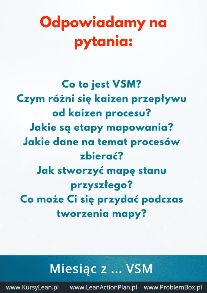 VSM - Mapowanie Strumienia Wartości - podsumowanie2