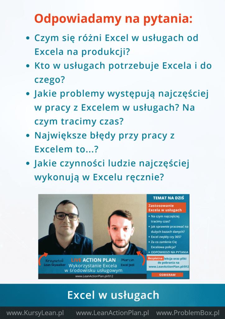 Excel w usługach - Podsumowanie2